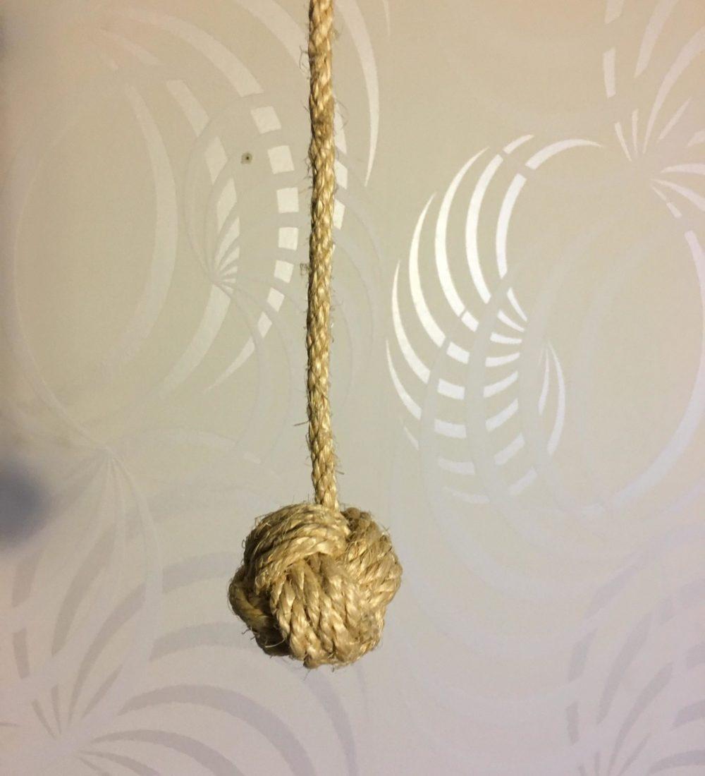 Boule en corde Sisal 2