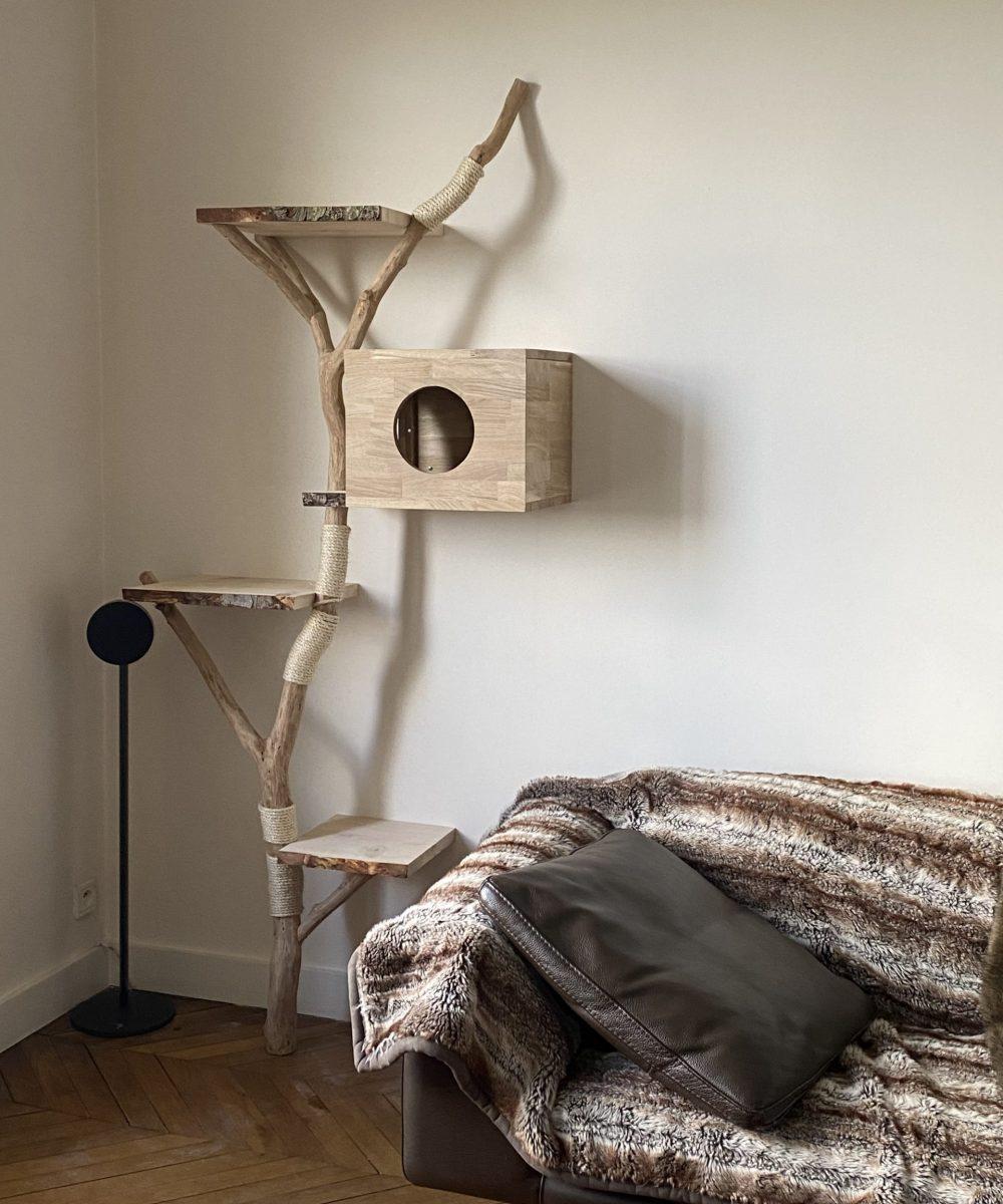 Mon arbre à chat Peinture Rio 5